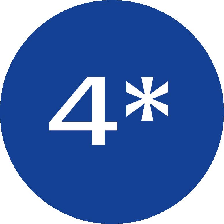4-hvezdy